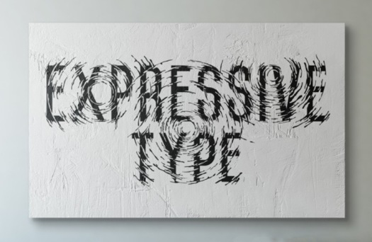 Agus Suryanto Hand Drawn Type saying expressive type