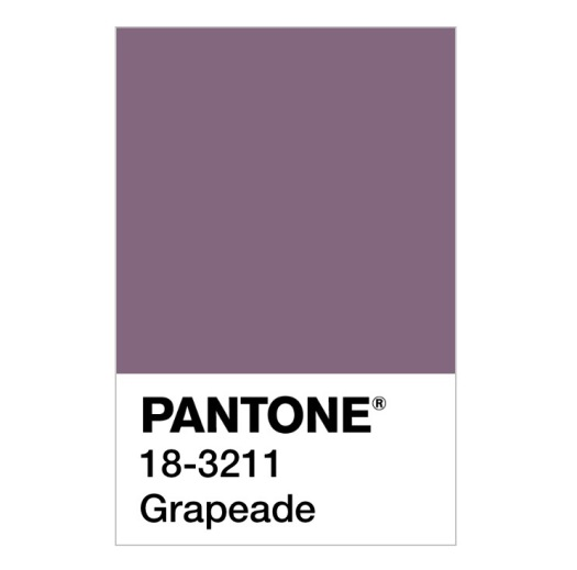 Pantone colour 18 3211 grapeade